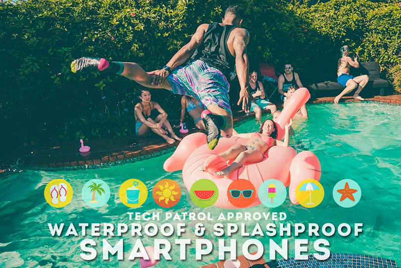 Watch: FIVE (5) Recommended Splash Proof / Water Proof Smartphones