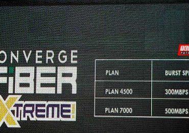 Converge Fiber Plans unveiled; Feat Fiber Xtreme 500Mbps Plan 7000