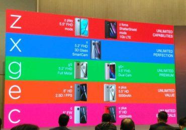 Upcoming Motorola phones leaked in a presentation