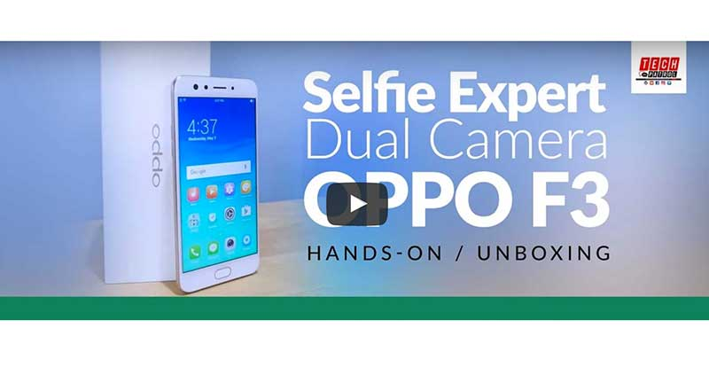 OPPO F3 Unboxing and Hands-on