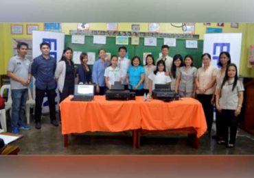 Epson provides technical training to Gift of Brightness beneficiary school