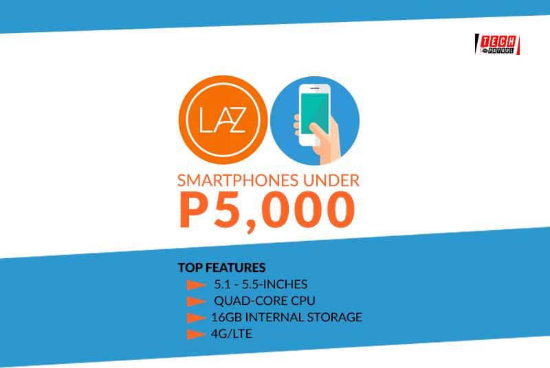 Smartphones you can buy under P5k today
