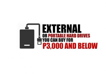Portable or External Hard Drives you can buy under P3,000