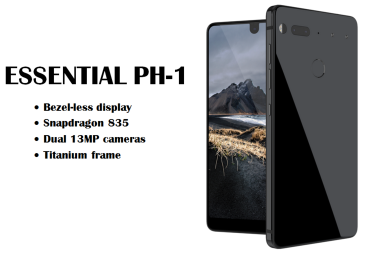 Essential PH-1 smartphone made by Android creator unveils