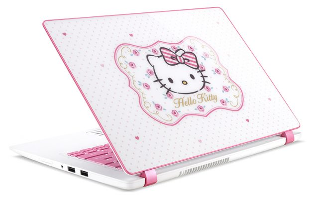 Photo of Hello Kitty Acer Laptop brings you to the Wonderland