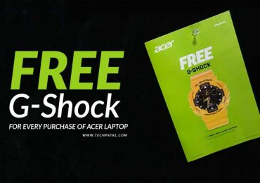 Time For Us: Get a FREE G-Shock when you buy Acer laptop