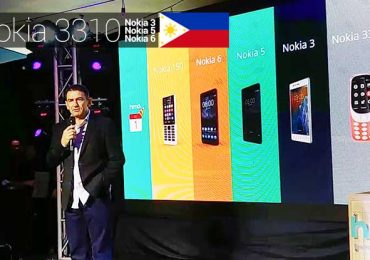 Nokia is officially back in PH; HMD Global launches Nokia 3, 5, & 6 plus the NEW Nokia 3310