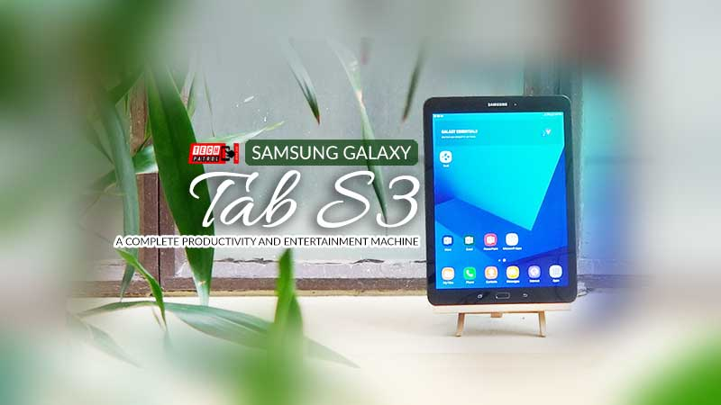 Samsung Galaxy Tab S3 Review: Your all-in-one productivity & entertainment machine