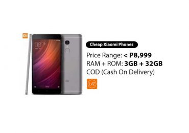 All the Xiaomi Smartphones with 3GB + 32G under P9,000 and COD on Lazada