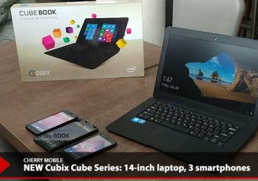 Cherry Mobile launches NEW Series of Cubix Cube devices; 14-inch laptop & 3 smartphones