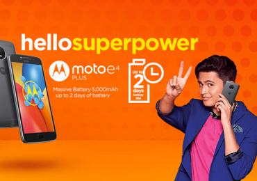 Motorola Moto E4 Plus with huge battery capacity is now available in Lazada