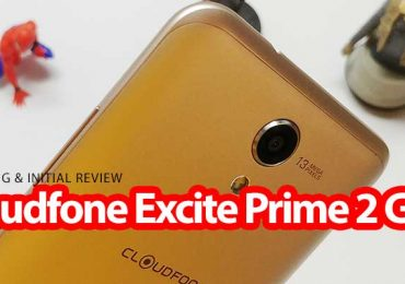 Unboxing: Cloudfone Excite Prime 2 Gold