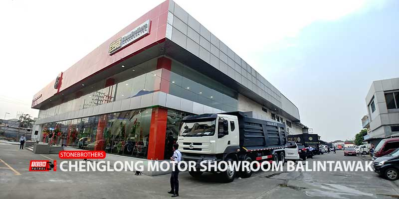 Chenglong Motor Showroom Balintawak by Stone Brothers Now Open