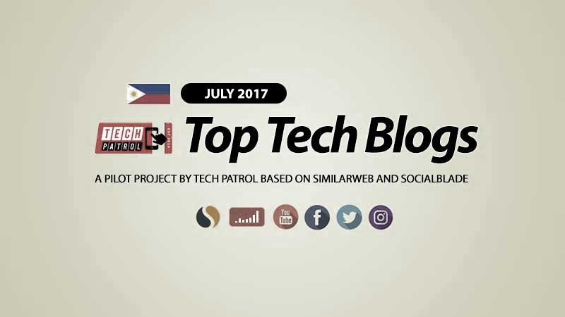 PH TOP Tech Blogs for July 2017
