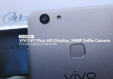 Vivo V7+ lands in the Philippines, priced at P17,990: Hands-on preview
