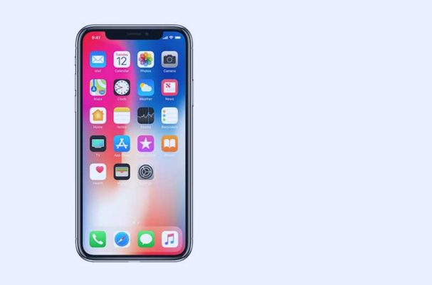This is the iPhone X (pronounced as iPhone 10)