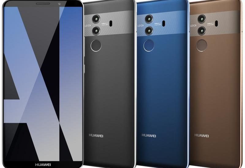 Huawei Mate 10 Pro official press renders leaked
