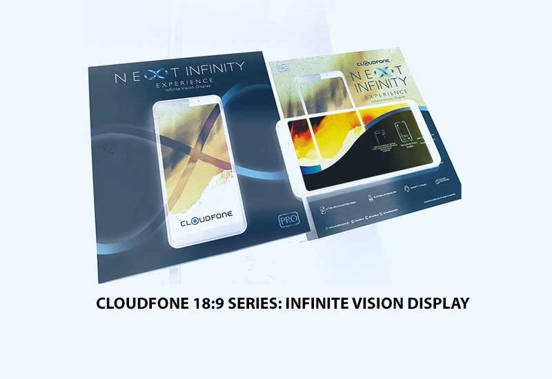 Cloudfone Next Infinity Pro; Infinite Vision Display & More