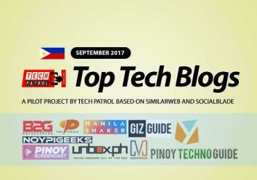 PH TOP Tech Blogs for September 2017