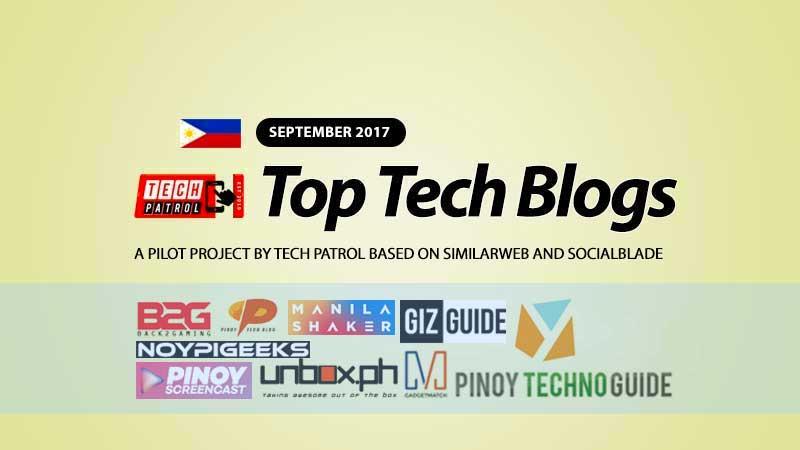 PH TOP Tech Blogs for September 2017