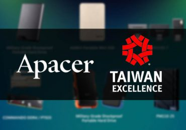 Apacer awarded as Outstanding Innovative Research and Development by 26th Taiwan Excellence