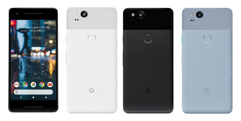 Google Pixel 2 and Pixel 2 XL are now official, Android 8.0 on board