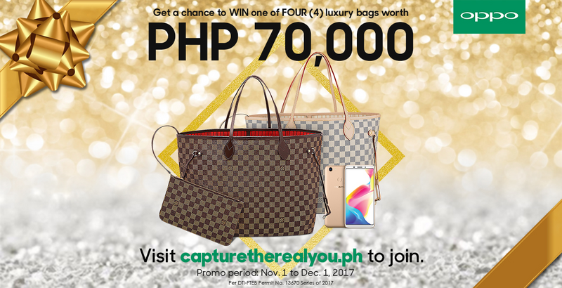 Photo of Buy an OPPO F5 and get a chance to win luxury bag worth P70,000!