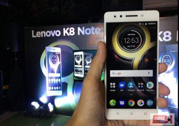Lenovo K8 Note First Impressions