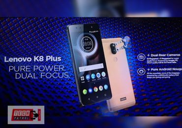 Smaller Lenovo K8 Plus now official in PH for 7,999 in Lazada