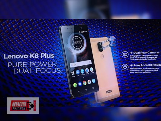 Photo of Smaller Lenovo K8 Plus now official in PH for 7,999 in Lazada