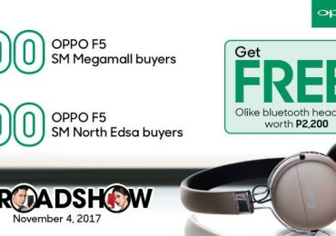 OPPO F5's first 100 buyers to get P5,000 worth of freebies