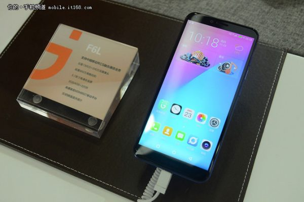 Photo of Gionee F6L reveals with 5.7″ 18:9 screen and 13MP+2MP dual shooters