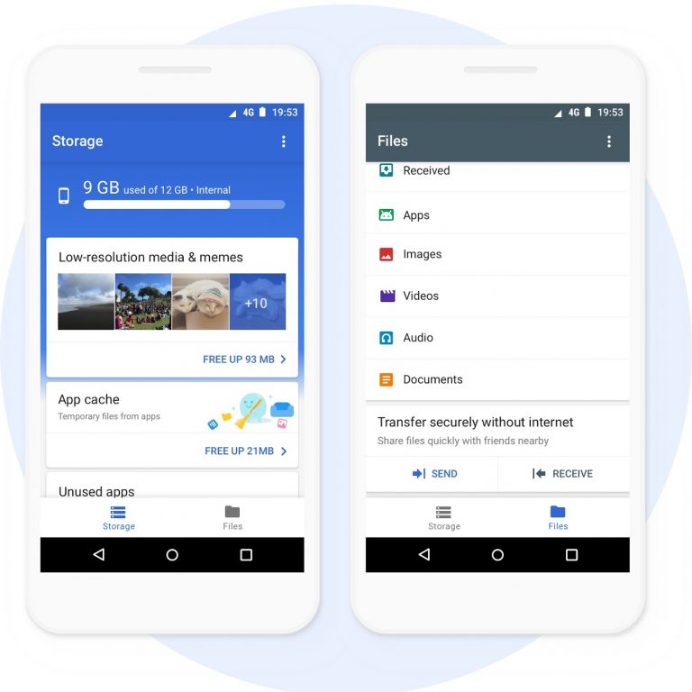Photo of Google's own 'Files Go' file management app goes official