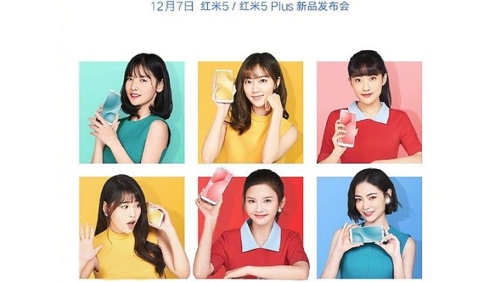 Photo of Xiaomi Redmi 5 Plus press render leaked with full specs and prices