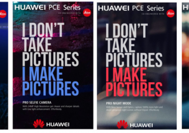 Huawei P20, P20 Plus and P20 Pro schematics with three rear cameras leaked