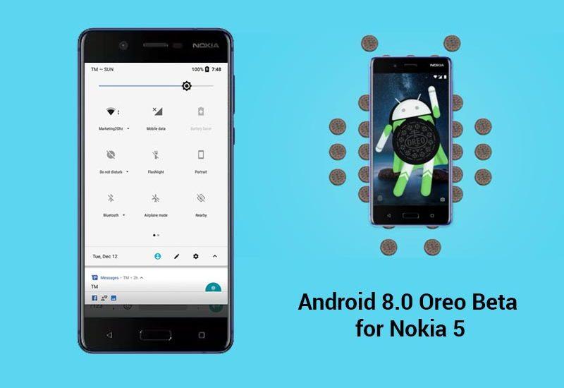 Nokia 5 can now test Android 8.0 Oreo Beta