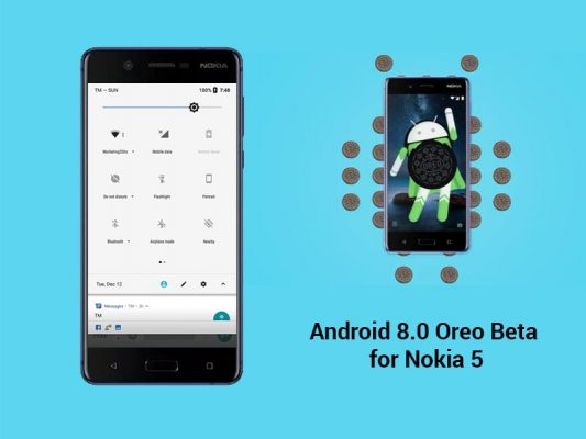 Nokia 5 Android 8.0 Update