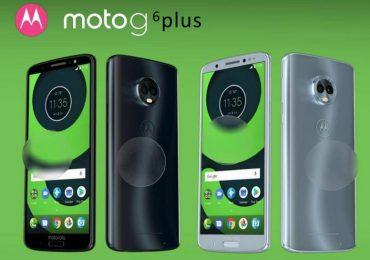 Motorola Moto G6, Moto G6 Plus and Moto G6 Play renders and specs leaked