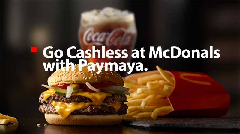 PayMaya and McDonald's announces partnership for more cashless payment options