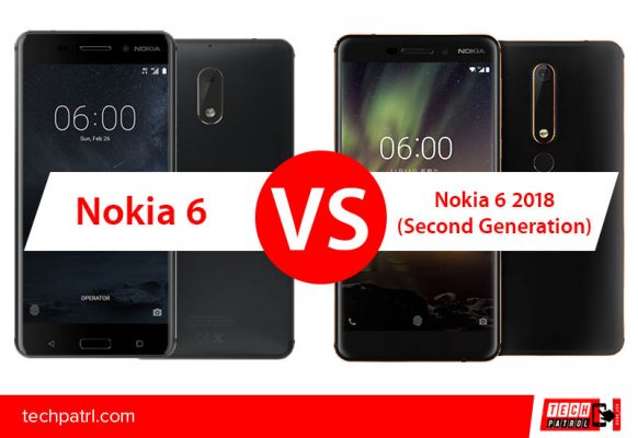 Photo of Specs comparison: Nokia 6 (2017) vs Nokia 6 (2018). What has been changed?