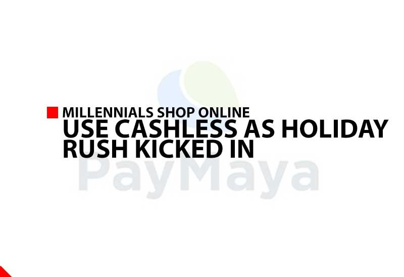 Millennials shop online, use cashless as holiday rush kicked in