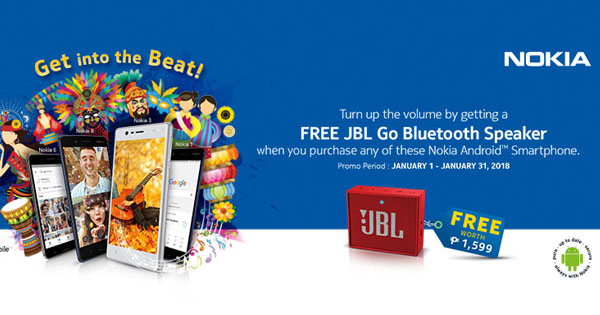 Photo of Nokia Android Smartphone with free JBL Speaker Is Extended!