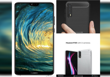 """Huawei P20 Pro specs and press render leaked: Triple cameras and a """"notch"""" confirmed"""
