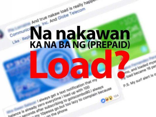 nakaw prepaid load