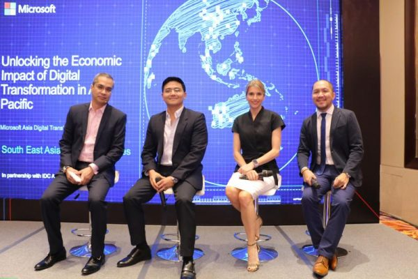 Microsoft produced a research study on the impact of Digital Transformation in Asia-Pacific