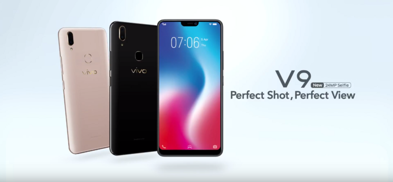 "Photo of Vivo V9 listed in the company's Indian website: Snapdragon 626 SoC and Android 8.1 ""Oreo"" confirmed"