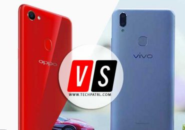 Specs Compared: VIVO V9 vs OPPO F7