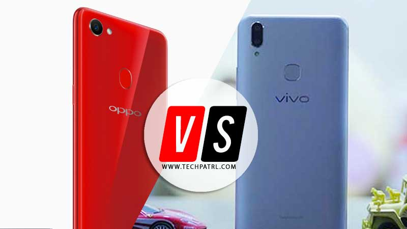 Photo of Specs Compared: VIVO V9 vs OPPO F7