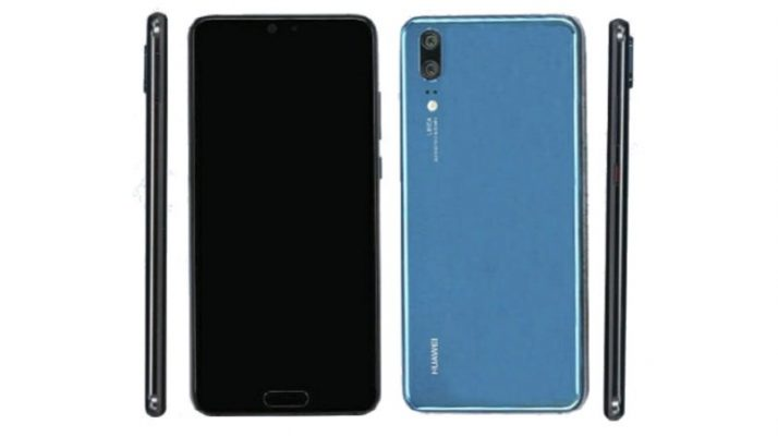 Photo of Huawei P20 Lite accidentally leaked by Vodafone, to cost €370