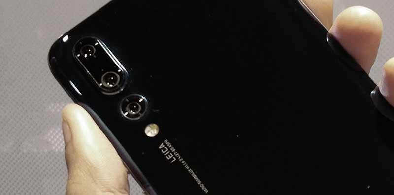 Sample selfie photos taken from Huawei P20 Pro
